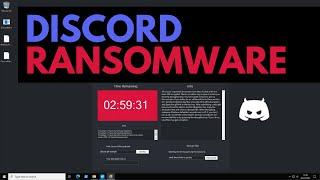 Discord Ransomware