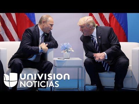 ¿Qué hablaron Donald Trump y Vladimir Putin durante su encuentro en Alemania?