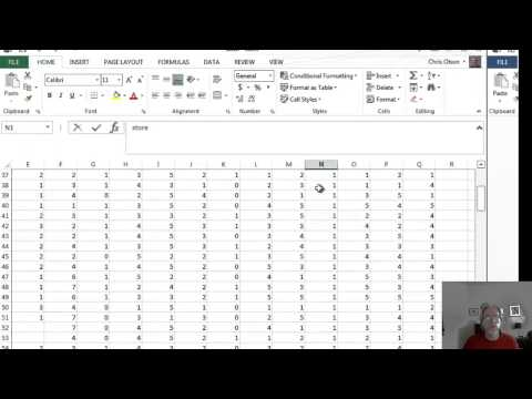 Preparing Raw Survey Data For ANOVA In Excel