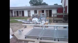 budowa silosu bin + elewator fotki