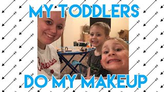 My Toddlers Do My Makeup | Four MakeOvers