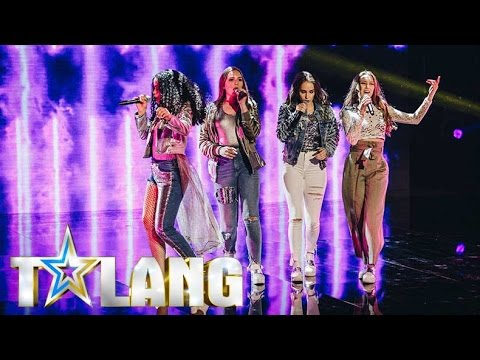 High 15 performs girlpower-medley in Sweden's Got Talent - Talang 2017