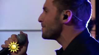 Måns Zelmerlöw - Glorious (Live) - Nyhetsmorgon (TV4)