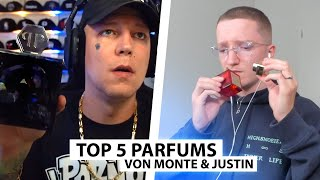 Justin reagiert auf Monte's Lieblingsdüfte und zeigt seine.. | Reaktion