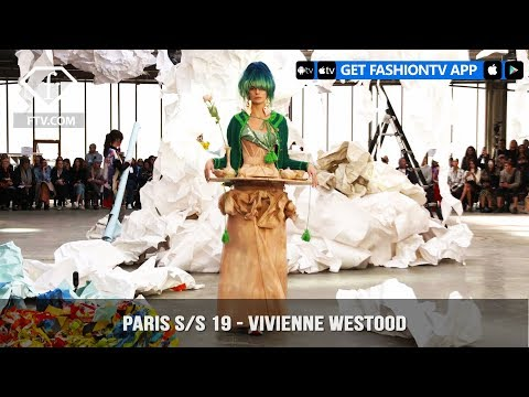 Vivienne Westwood Video Trade Paris Fashion Week Spring/Summer 2019 | FashionTV | FTV