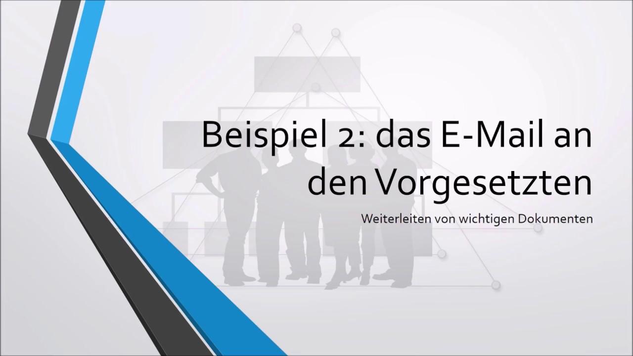Deutsch Lernen Richtige E Mails Schreiben Youtube