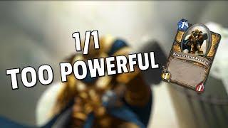 Hearthstone - 1/1 Dudes Too Powerful