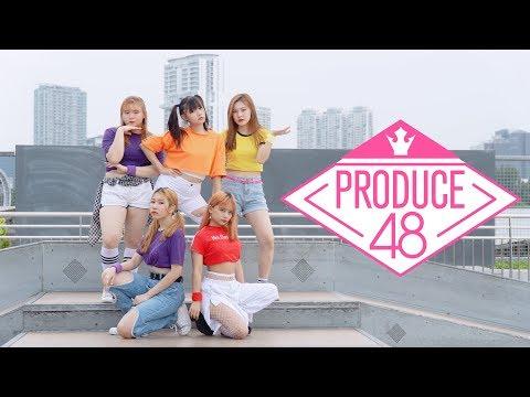 F.MUSES - PRODUCE48 (프로듀스 48) INSTRUCTION - JAX JONES FT. DEMI LOVATO [DANCE COVER]