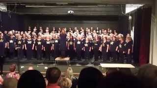 "Chester Rock Choir sings ""Budapest "" at the Birkenhead Academy"