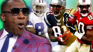 "Shannon Sharpe's ""TOP 3"" BEST NFL Receivers of ALL TIME"
