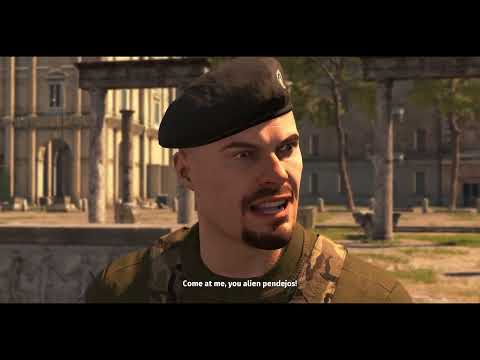Serious Sam 4   Gameplay Trailer Most Badass Scenes in Video Game |