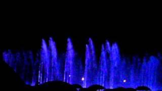 Tańczące fontanny w Warszawie - otwarcie.