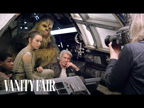 STAR WARS Cast On-Set of The Force Awakens for Vanity Fair's Cover Shoot