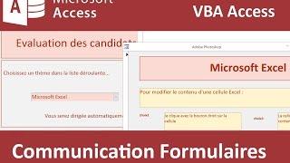 Transmettre données entre formulaires par VBA Access