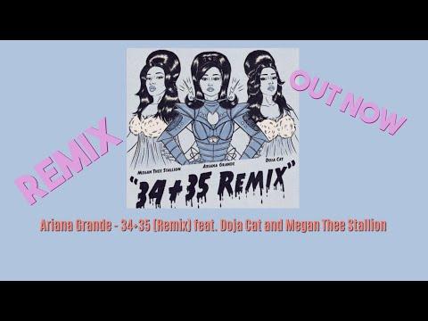 Ariana Grande - 34+35 Remix feat Doja Cat and Megan Thee Stallion (1 HOUR LOOP)