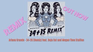 Ariana Grande 34 35 Remix Feat Doja Cat And Megan Thee Stallion 1 Hour Loop