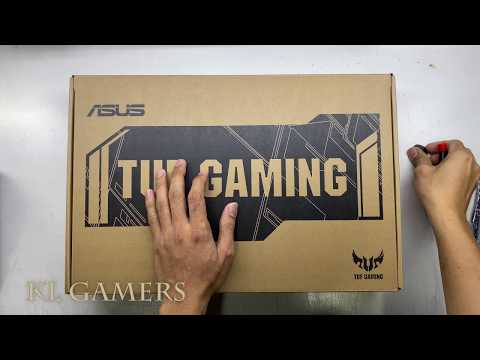 AMD Ryzen 7 3750H GTX 1660Ti ASUS TUF GAMING Laptop FX505D-UAL114T Unbox Upgrade Game Benchmark 2020