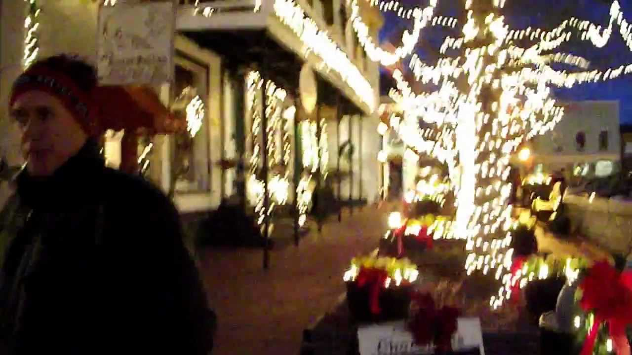 Dahlonega Ga Christmas.Christmas Lights Em Dahlonega Ga