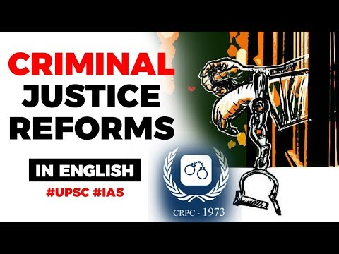 criminal-justice-reforms-in-india,-centre-to-amend-ipc-and-crpc,-current-affairs-2019-#upsc2020