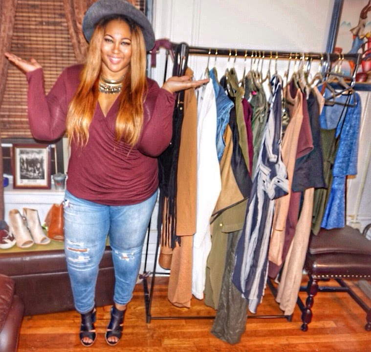 huge fall 2015 plus size fashion haul | boohoo, burlington coat