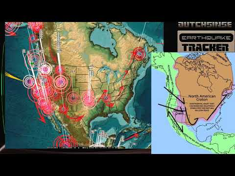 10/12/2017 -- Earthquake unrest building -- West Coast USA / California -- Large pacific earthquake