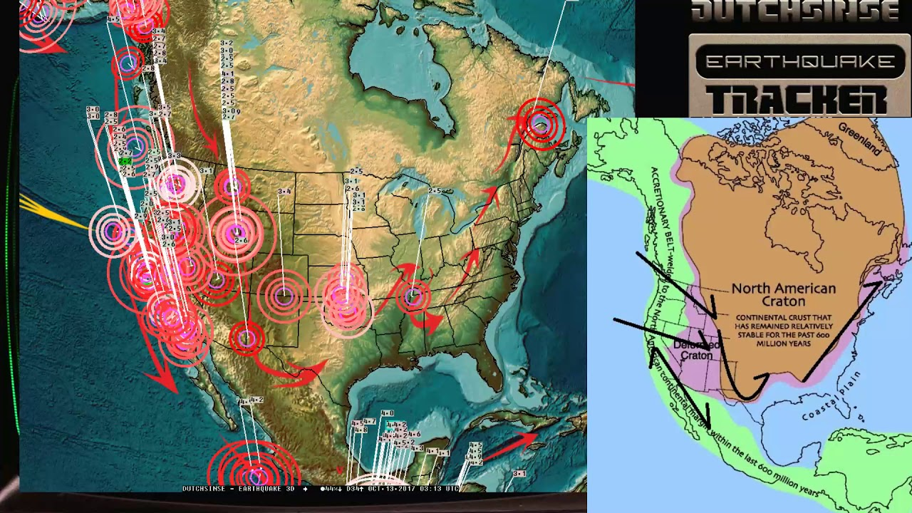 10 12 2017 earthquake unrest building west coast usa california large pacific earthquake