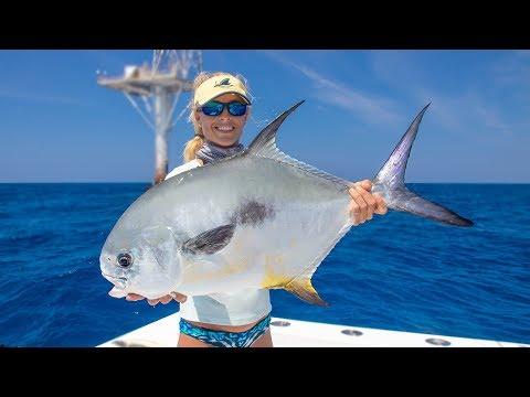 Florida Keys Deep Sea Tower Fishing 50 MILES OUT