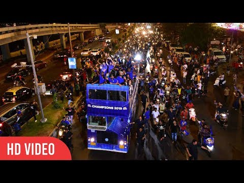Mumbai Indians Celebrate IPL 2019 WIN With Open-Bus Parade | GRAND CELEBRATION | COMPLETE VIDEO