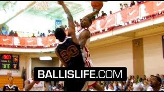 Andrew Wiggins Absolutely DOMINATES Nike Peach Jam! Best Player In The Nation Regardless Of Class!?