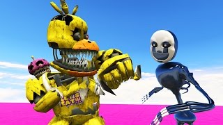 fnaf school fight nightmare puppet master vs nightmare chica gta 5 mods fnaf funny moments
