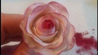 How to Make a Gum Paste Rose