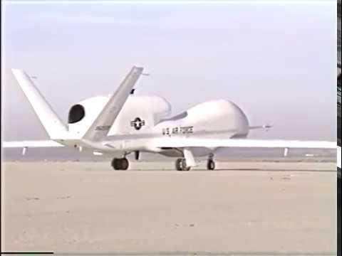 Teledyne Ryan Aeronautical (Northrop Grumman) Global Hawk First Flight: Feb. 28, 1998