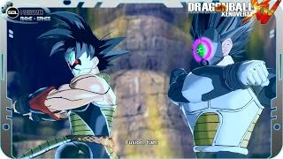 Repeat youtube video Fusion Time Breakers Bardock and Vegeta - The History of Demons Demigra, Mira and Towa - DB Heroes
