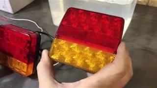 Тестирование светодиодных фонарей