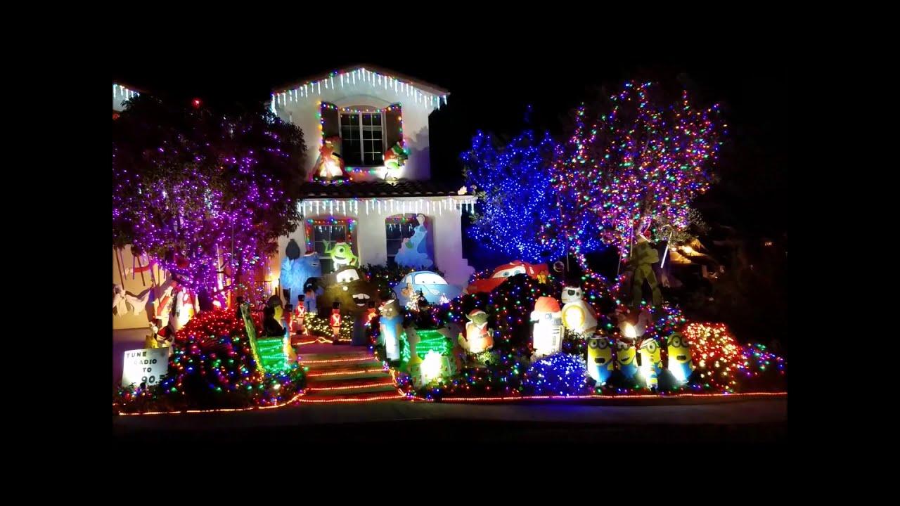 Ventura Christmas Tree Lighting 2020 Christmas Light Displays Around Ventura County 2018   YouTube