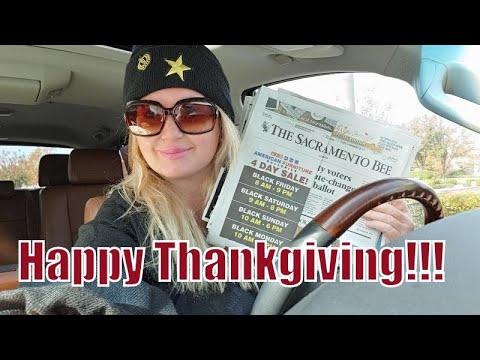 Happy Thanksgiving!  Dollar Tree/ Black Friday Ads Haul!