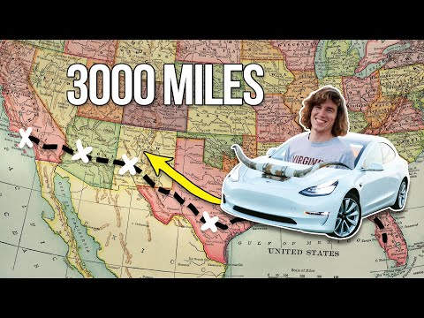 Road Trip in a Tesla! (Part 1)