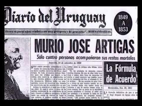 Los últimos dias de José Artigas.
