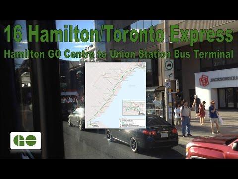 16 Hamilton/Toronto Exp. - GO Transit 2011 MCI D4500CT 2469 (Hamilton GO Ctr to Union Station)