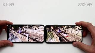 iPhone X Performance Comparison 64GB vs. 256GB (what Apple doesn't want you to know!)