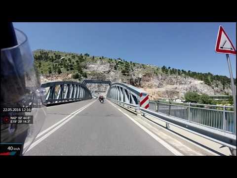 Azrus MC Tour Albania Montenegro Part 2