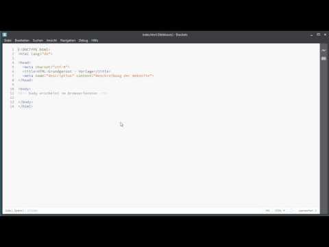 Little Boxes – Der HTML-Crashkurs Tutorial: Startseite Mit Titel Und Beschr. Erst. |video2brain.com