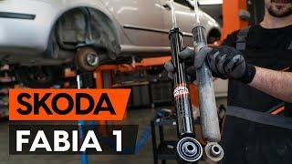 Montaż Amortyzator przednie i tylne SKODA FABIA Combi (6Y5): darmowe wideo