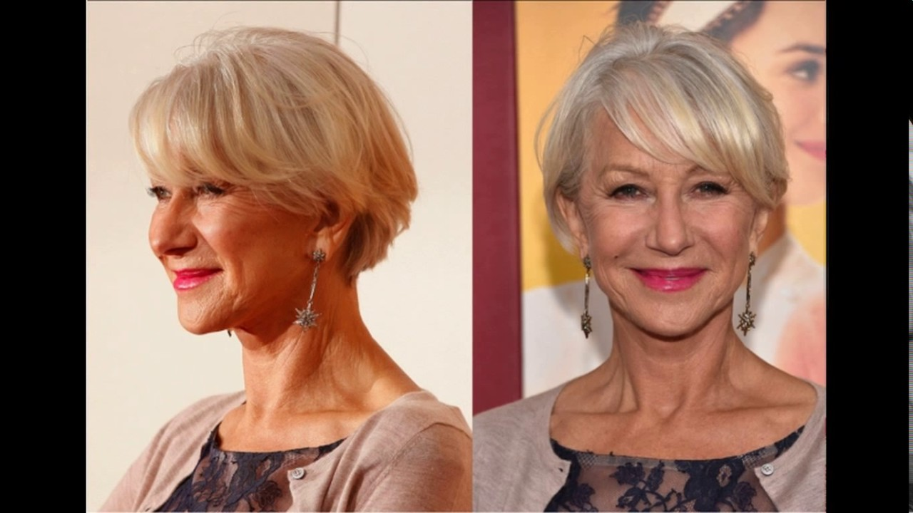 short haircuts for women over 60 with glasses - youtube