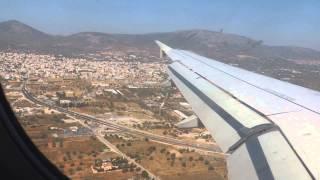Посадка в аэропорту г. Афин (Eleftherios Venizelos)(, 2014-10-25T10:53:19.000Z)