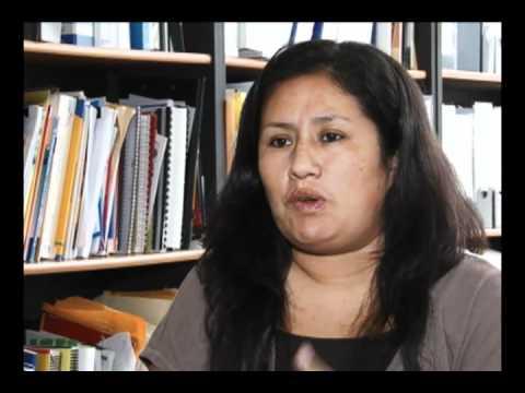Entrevista a Katia Romero de la OIT parte1