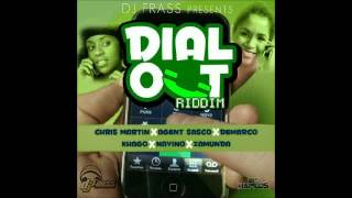 Dial Out Riddim Instrumental (DJ Frass Records) April 2012