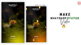 How To Make Trending Full Screen WhatsApp Status Video In Kinemaster [Hindi] Tutorial 2020