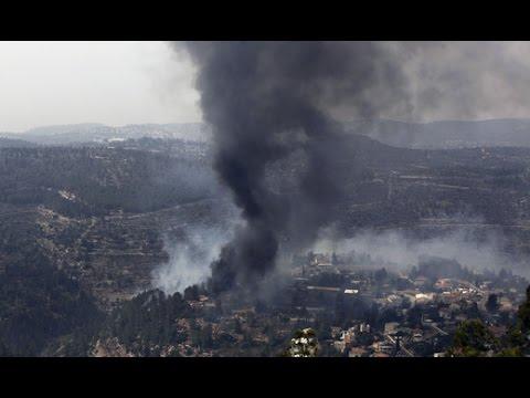 Более 700 человек эвакуировали из-за лесного пожара близ Иерусалима. Новости Украины,России