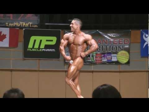 "Greg ""Mutant"" Doucette LH posing routine 2012 canadian bodybuilding nationals IFBB PRO"
